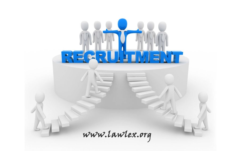 Recruitment at Law Mantra