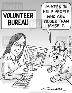 Volunteer Bureau: 'I want to help people who are older than myself...'