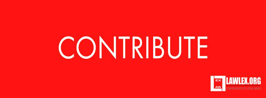 contribute to lawlex