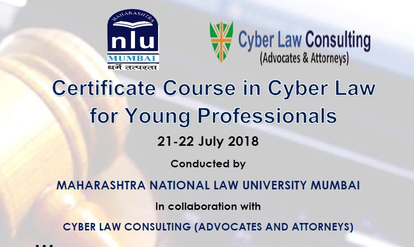 MNLU Mumbai Certificate Course in Cyber Law for Young Professionals ...